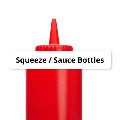 Squeeze/Sauce Bottles