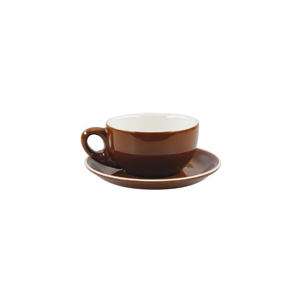 Rockingham Latte Cup Brown 280ml | The Hospitality Store